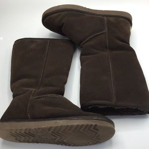Ugg Classic Tall Suede Sheepskin Boots